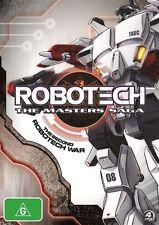 Robotech - The Masters Saga (DVD, 2012, 4-Disc Set)