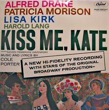 DRAKE/MORISON/KIRK/LANG kiss me kate COLE PORTER LP CAPITOL UK rare VG++