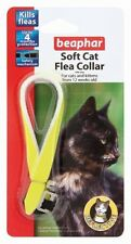 Cat Flea Collar Beaphar Reflective Soft In Bright Day-Glo Yellow pet