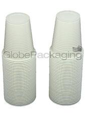 offre * 100 x blanc plastique jetable tasses verres 7oz