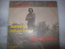 "7"" Single P/S 45 - NEIL SEDAKA - BEAUTIFUL YOU - 1972 - Brazil"
