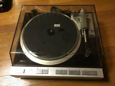 Denon DP-47F Turntable Audio Record Player Tested Working Used