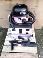 Numatic Henry Hetty 160 Pink Bagged Vacuum Cleaner Hoover C/W New Tools And Bags