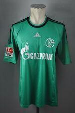 FC Schalke 04 Trikot Gr. L Adidas Third 2013 - 2014 Gazprom blau #9 Prince