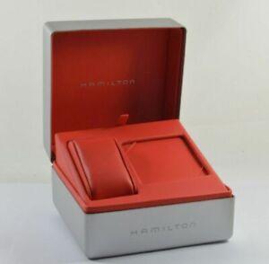 Hamilton Watch Box Case RAR Vintage 2 With Packaging Carton