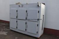 Tiefkühlzelle mit 6 Fächern, Gefrierzelle, Tiefkühlhaus, Tief- Kühlhaus
