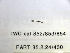IWC cal  852 / 853 / 854  click spring IWC part 85 2 24       part 430