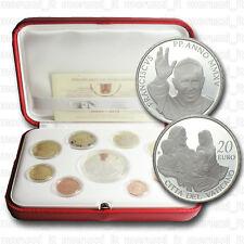 MORUZZI Vatikan FRANZISKUS Original Kursmünzensatz KMS 2015 PROOF / PP + Silber