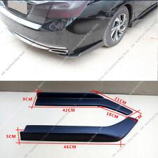 Black Universal Fit Rear Bumper Lip Splitters j Winglets Refit PP 26 Inch 2x
