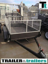 8x5 Tandem Cage Trailer with 2ft / 600mm Cage  *NEW TYRES*