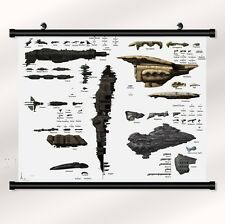 "eve online Game Fabric poster with wall scroll 22"" x 16"" Decor 04"