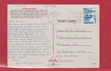 25 cent Polar Bear 1977 to Australia post card from Canada