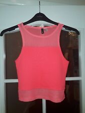 344aa41a9a4797 H M Regular Size Crew Neck Cropped Tops   Shirts for Women