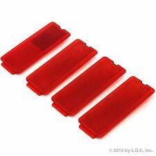4 Door Reflectors Interior Red fits Ford SuperDuty 1999-2007 F250 F350 F450 F550