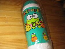 Sanrio Vintage 1988 Keroppi Sports Water Bottle Canteen 33oz. NEW LOOK!