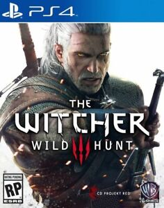 The Witcher III 3 Ps4