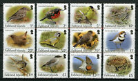 Falkland Islands Small Birds Stamps 2017 MNH Definitives Wrens Finches 12v Set