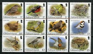 Falkland Islands Small Birds Stamps 2017 MNH Definitives Wrens Finches 12v Set