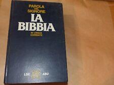 LA BIBBIA in lingua corrente 1985 traduzione interconfessionale