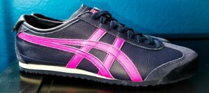 ASICS ONITSUKA TIGER MEXICO 66 SNEAKERS NEW MEN'S SIZE 11.5 MIDNIGHT/PINK GLO