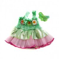 "Fairy outfit dress with earbow outfit teddy bear clothes fits 15"" Build a Bear"