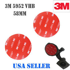 3M 2x  58mm VHB Double Sided Foam Adhesive Tape 5952 Automotive Mounting GPS