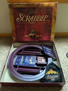 Scrabble 50th Anniversary Turntable Collector's Edition Game COMPLETE IN BOX