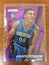 2014-15 Aaron Gordon Panini Prizm PURPLE DIE-CUT REFRACTOR RC /139 Orlando Magic