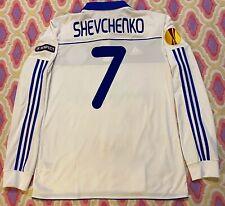 SHEVCHENKO JERSEY Shevchenko MATCH WORN  Dynamo Kiev- Manchester City Match