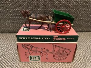 Lot 53 Britains 9500 Farm Cart In Tray Box