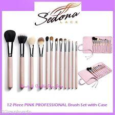 NEW Sedona Lace 12-Piece PINK PROFESSIONAL Brush Set FREE SHIPPING Makeup BNIB