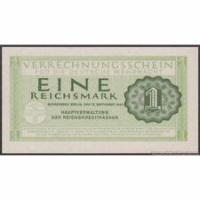 TWN - GERMANY M38 - 1 Reichsmark 15/9/1944 UNC No serial