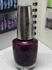 Opi Nail Polish Lacquer Designer Series Ds Extravagance .5 oz Burgundy Rare Htf