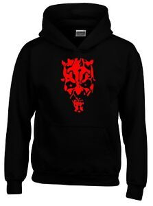 Darth Maul Sith Lord Vader Movie Sci-Fi Mens Hoodie