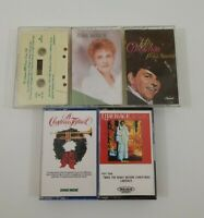 Christmas Music Cassette Lot of 5 Titles SEE DESCRIPTION FOR TITLES