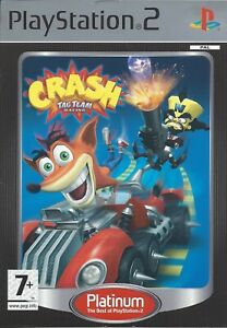 CRASH TAG TEAM RACING for Playstation 2 PS2 - with box & manual - PAL