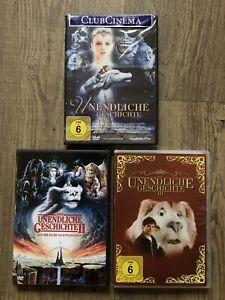Die Unendliche Geschichte 1 - 3 / DVD / 1 OVP / Fuchur Bastian