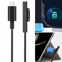 1.8M USB-C Type C Fast Charging Adapter Cable Cord For Surface Book Pro 6/5/4/3