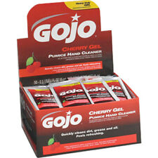 GOJO Cherry Gel Pumice Hand Cleaner, 1 box of 50 packets #2350