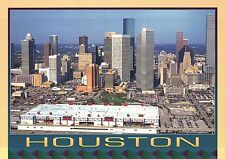 Houston Texas, Skyline & Skyscrapers, Downtown Buildings & Parking Lots Postcard