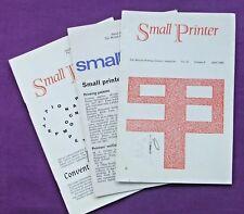 Adana tipografía impresión BPS tres pequeñas revistas de impresora desde abril de 1969