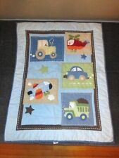 Parent's Choice Baby Crib Comforter Quilt Blanket Car Airplane Helicopter Truck