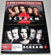 SCREAM 2 / SCREAM 3----(Dvd 2 Disc Set)