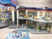 Vintage Playmobil Hospital ~ Set 4404 ~ Boxed with Instruction ~ 98% Complete