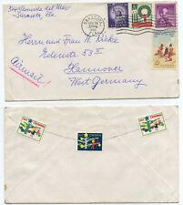 51163 - USA - Beleg - Sarasota FL 18.12.1962 nach Hannover