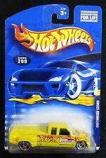 2000 Hot Wheels Yellow Customized C3500 Card #209 Hw-32-091717