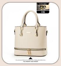 Office Lady Handbag Purse Shoulder Satchel  Messenger Bags Tote Women Leather