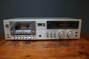 Technics RS-M215  Cassette Deck Tape Player / Recorder 1980s Silver Japan