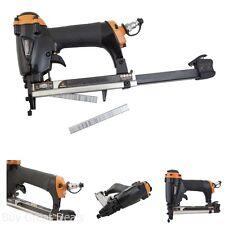 Air Pneumatic Stapler Upholstery Staple Gun Professional Fine Wire Stapler Tool