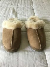 NWT Premium Comfort Women's Brown Slip On Slippers Size 7